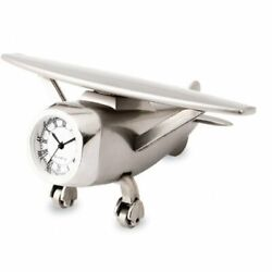 Paper Weight Metal Aeroplane Bright Colorful Design Robust And Heavy Shine