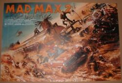 Mad Max 2 The Road Warrior Jack Gregory Movie Poster Print Art Numbered 2016