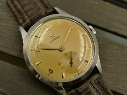 50and039s Vintage Watch Mens Omega Hand Wind Cal. 266 Ref. 2750 - 2 Mint W/ Box Rare