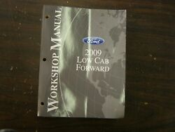 Oem Ford 2009 Low Cab Forward Truck Shop Manuals Books + Wiring Diagram Nos