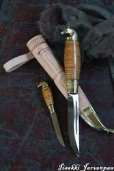 Jarvenpaa 2756 Scandinavian Knife Imported From Finland