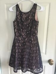 Speechless XS Fully Lined Dress Navy Super Cute $15.75