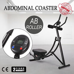 Abdominal Coaster Max Fitness Workout Machine Ab Coaster Exercise Get In Shape