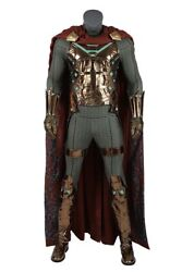 Spider-man Far From Home Mysterio Cosplay Costume Men Uniform Outfits Full Set
