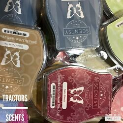 New Scentsy Bars 3.2oz Wax Classics and Christmas 2020 Scents