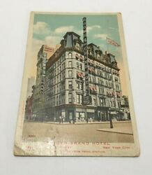 Manger Grand Hotel New York City Two Blocks From Penn Station Cheap Rooms 1 Up