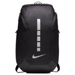 New Nike Hoops Elite Pro Backpack BlackMet.Silver. BA5990-011.FREE SHIPPING