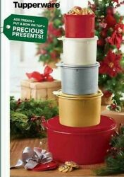 Tupperware 5pc Canister Set.