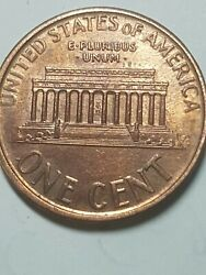 American Penny Error Grease Filled Die Date Ddr On One Cent And Other Letter