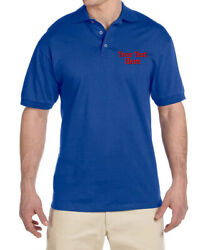 Company Logos Custom Embroidered Polo Shirt Customized Business Embroidered