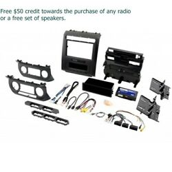 PAC RPK4-FD2101 Car Dash Kit with Climate Controls for Select Vehicles with 8
