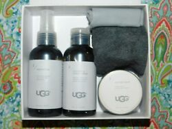 NEW SEALED UGG LEATHER CLEANER & PROTECTION CARE KIT 1017844 5 PIECE SET