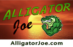 Alligator Joe - Outdoor Clothing Gear Fishing Tackle Boats Exercise .Com Domain
