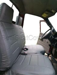A27 Pugr Compact Truck Rcab Xcab Large Notched Cushion Bench Gray Seat Cover