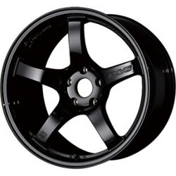 Rays Gram Lights 57cr 18x9.5j +38 5x120 Glossy Black For Civic Type R From Japan