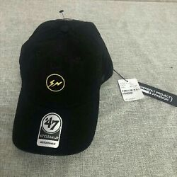 Thunderbolt Project Fragment And Pokemon Logo Mew Two Color Black Cap New