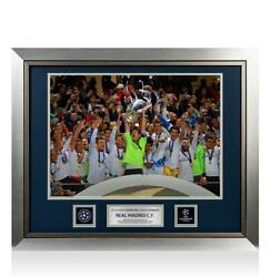 Unsigned Real Madrid Official Uefa Champions League Framed Photo 2014 Winners