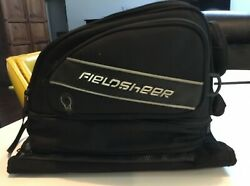 Fieldsheer Black Zippered Compact Motorcycle Bag Excellent condition Clean $49.99