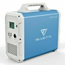 MAXOAK Portable Power Station BLUETTI EB150 1500Wh AC120V/1000WCamping Generator