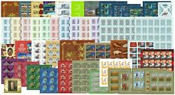 Russia 2019 Q3 Part Of Full Year Set In Full Sheets Incl. Genuine Overprint Mnh