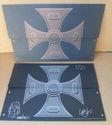 Masters Of The Universe Motu Sdcc 2008 Print Set 1 Of 100 Signed Sketch He-man