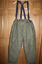 Us Military Wwii Ww2 Type A-10 Pilot Flying Cold Weather Winter Pants Trousers
