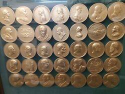 Bronze Presidential Coins Peace And Friendship Full Set