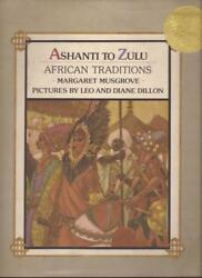 Leo And Diane Dillon Ashanti To Zulu African Traditions 1st Japanese Ed Caldecott