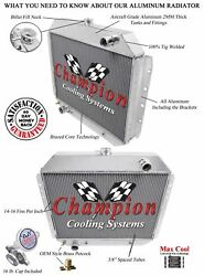4 Row Performance Champion Radiator For 1968 - 1979 Ford Truck V8 Engine