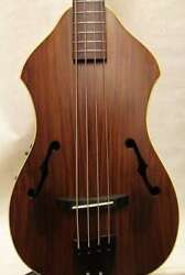 Used K.yairi Yb-13e Electric Acoustic Bass Made In Japan W/hardcase