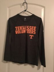 Tennessee Volunteers ADIDAS Climate Athletic Shirt Top Big Kids Sz S MultiColor