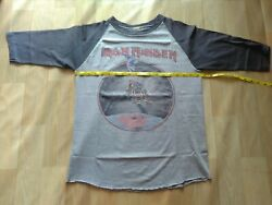 Vintage Iron Maiden The Beast On The Road 82-83 World Tour M Tshirt