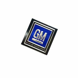 Gm Logo Seatbelt Authentic Decal For Seat Belt Push Button Style 60s 70s 80s Lsx