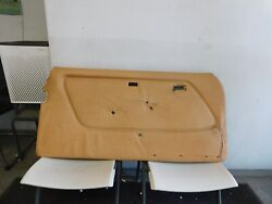 W123 77-85 280ce 300cd 200ce 230ce Coupe Door Panel Left Coupe Palomino