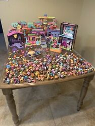 Littlest Pet Shop Huge Lot Many Buildings Over 200 Characters 🔥🔥🔥 LPS