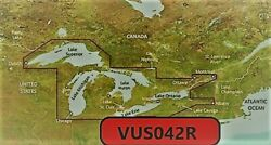Vus042r Bluechart G2 Vision Marine Gps Map Micro Sd/sd For Garmin Gps/sounder