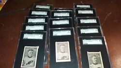 1924 1925 CRESENT SELKIRKS ICE CREAM FULL SET w #6 CECIL BROWNE (ONLY 2 KNOWN)