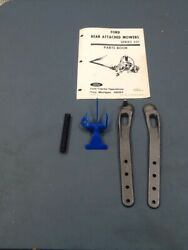 Ford 501 Sickle Mower Strap And Latch Set 143575 143576 7501112 147857