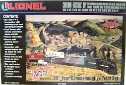 Lionel 6-11820 Red Wing Shoes 90th Year Commemorative Train Set W/sound  New