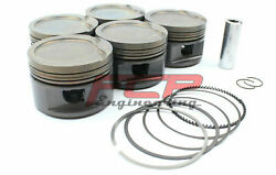 Fcp Forged Pistons Cr 8.5 For Audi S2 Rs2 2.2t 20v 3b Aan