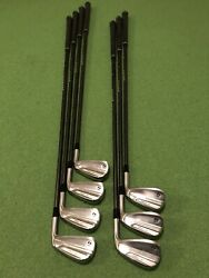 TAYLORMADE NEW MODEL P790 4-PW RECOIL 760 F2. VERY GOOD USED CONDITION