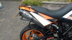 Ktm Sm 950 Stainless Steel Motorbike Performance Exhausts Pipes Cans Mufflers
