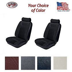 F/r Low Back Bucket Seat Upholstery For 1979 - 80 Fox Body Mustang Ghia Coupe