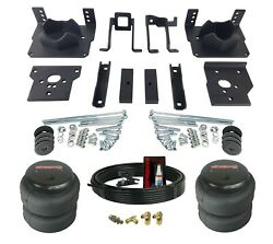 Air Helper Spring Kit Bolts On Over Load Level For 2011-2016 Ford F250 F350 2wd