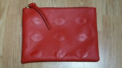 Lord and Taylor Red Clutch Bag $5.99