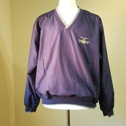 Page And Tuttle Mens Blue V Neck Pullover Size L