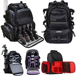 Waterproof Large Camera Backpack Shoulder Bag DSLRSLRTLR Tripod Filter Pack