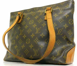 Louis Vuitton Cabas Piano Shoulder Tote Shopping Hand bag Purse Auth