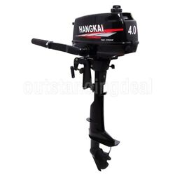 New 49cc Fishing Boat Engine 2-stroke Outboard Motor Cdi System 2.5kw3.5hp