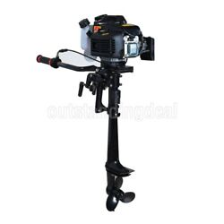 2.9kw 4.0hp 4 Stroke Outboard Motor Boat Engine Air Cooling System Cdi System